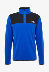 The North Face - GLACIER SNAP-NECK  - Fleece jumper - blue/black - 4