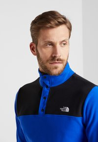 The North Face - GLACIER SNAP-NECK  - Fleece jumper - blue/black - 3