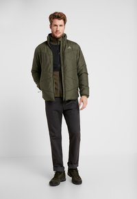 The North Face - GLACIER PRO FULL ZIP - Fleecejacka - new taupe green/black - 1