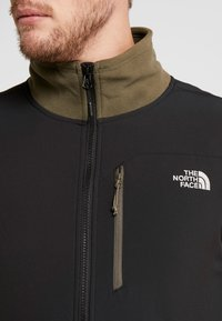 The North Face - GLACIER PRO FULL ZIP - Fleecejacka - new taupe green/black - 5