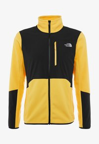 The North Face - GLACIER PRO FULL ZIP - Fleecetakki - yellow/black - 5