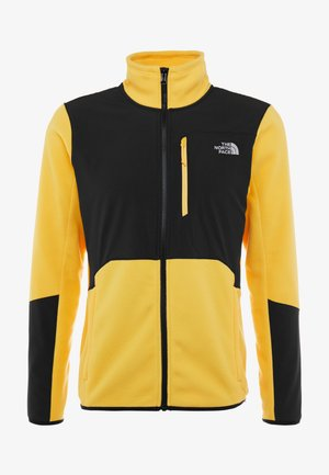 GLACIER PRO FULL ZIP - Fleecejacka - yellow/black