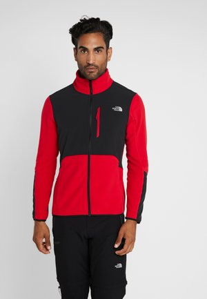 GLACIER PRO FULL ZIP - Fleecejacka - red/black