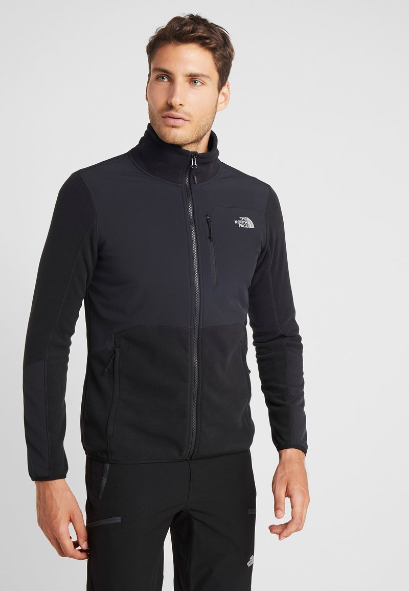 The North Face - GLACIER PRO FULL ZIP - Fleecová bunda - black