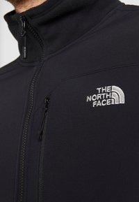 The North Face - GLACIER PRO FULL ZIP - Fleecejacka - black - 6