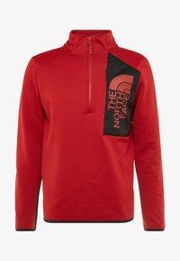 The North Face - MERAK ZIP - Fleece trui - cardinal red/black - 3