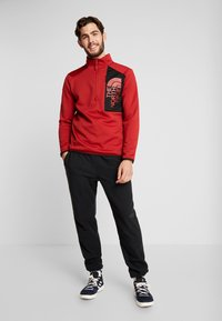 The North Face - MERAK ZIP - Fleece trui - cardinal red/black - 1