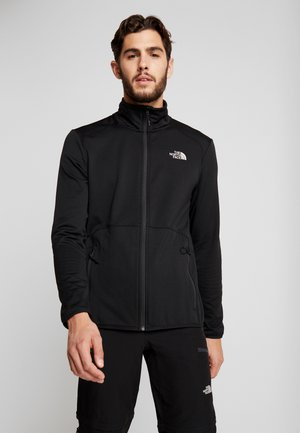 QUEST JACKET - Fleecová bunda - black