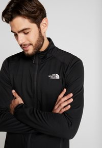 The North Face - QUEST JACKET - Fleecová bunda - black - 3
