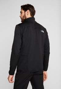 The North Face - QUEST JACKET - Fleecová bunda - black - 2