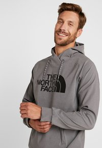 The North Face - EKNO LOGO HOODIE - Mikina s kapucí - medium grey heather - 4