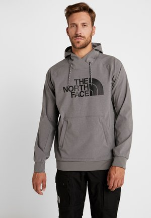 EKNO LOGO HOODIE - Bluza z kapturem - medium grey heather