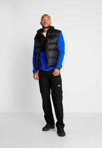The North Face - MENS GLACIER FULL ZIP HOODIE - Fleecová bunda - clear lake blue/black - 1
