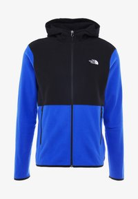 The North Face - MENS GLACIER FULL ZIP HOODIE - Fleecová bunda - clear lake blue/black - 3