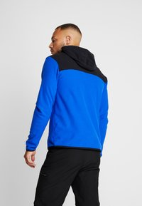 The North Face - MENS GLACIER FULL ZIP HOODIE - Fleecová bunda - clear lake blue/black - 2
