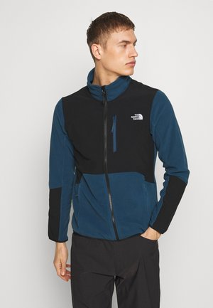 MENS GLACIER PRO FULL ZIP - Fleecová bunda - blue wing teal/black