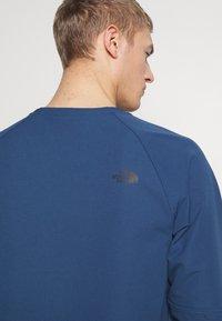 The North Face - MENS TEKNO RIDGE CREW - Bluza z polaru - blue wing teal - 4