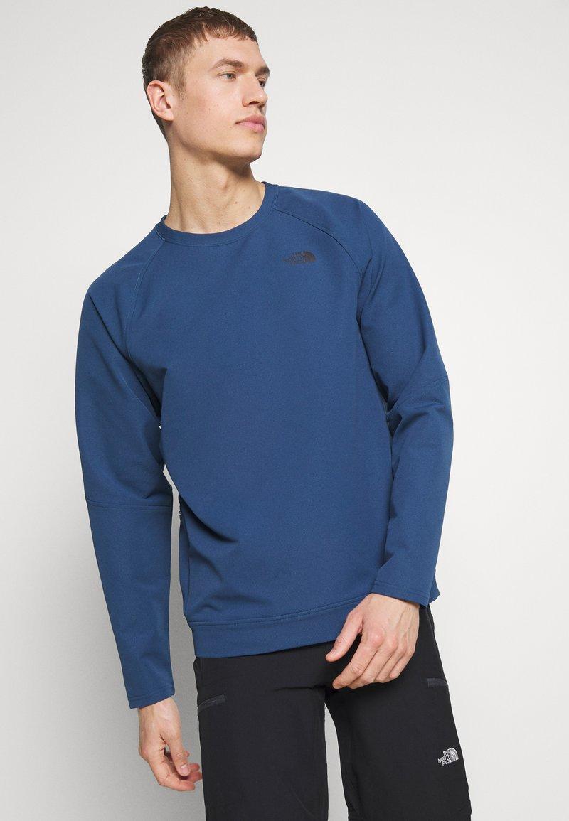 The North Face - MENS TEKNO RIDGE CREW - Bluza z polaru - blue wing teal
