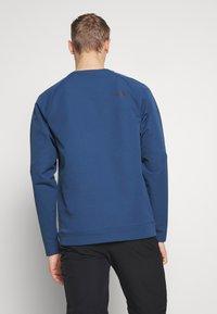 The North Face - MENS TEKNO RIDGE CREW - Bluza z polaru - blue wing teal - 2