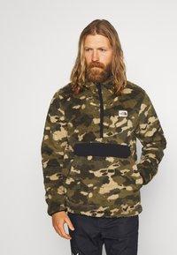 The North Face - MENS CAMPSHIRE - Fleece trui - green/black - 0