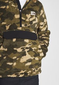 The North Face - MENS CAMPSHIRE - Fleece trui - green/black - 5