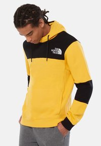 The North Face - HIMALAYAN - Hoodie - yellow/black - 0