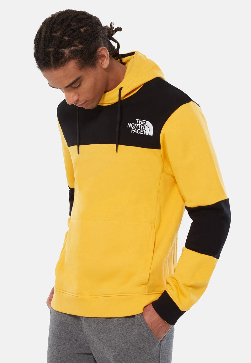 The North Face - HIMALAYAN - Hoodie - yellow/black