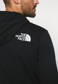 The North Face - RAINBOW HOODY - Bluza z kapturem - black - 5