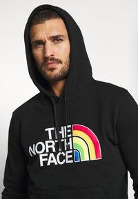 The North Face - RAINBOW HOODY - Bluza z kapturem - black - 3