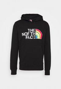 The North Face - RAINBOW HOODY - Bluza z kapturem - black - 4