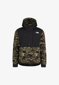 The North Face - THE NORTH FACE DENALI ANORAK 2 FLEECEJACKE HERREN - Kurtka z polaru - burnt olive green / digi camo print - 0