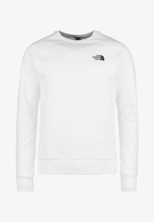 Sweatshirt - tnf white / flame orange