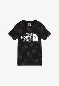 The North Face - YOUTH EASY TEE - T-shirt con stampa - black - 2