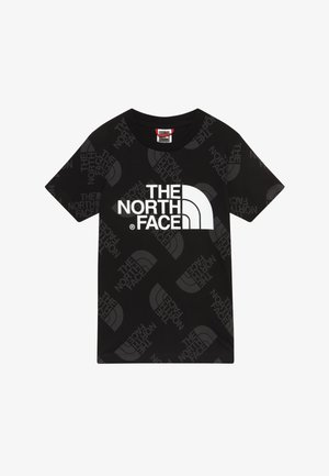 YOUTH EASY TEE - Triko s potiskem - black