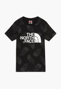 The North Face - YOUTH EASY TEE - T-shirt con stampa - black - 0