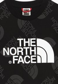 The North Face - YOUTH EASY TEE - T-shirt con stampa - black - 3