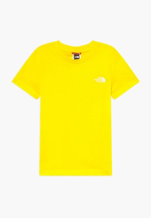 YOUTH SIMPLE DOME TEE - T-shirt con stampa - lemon