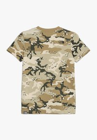 The North Face - YOUTH SIMPLE DOME TEE - T-shirt z nadrukiem - olive/green - 1