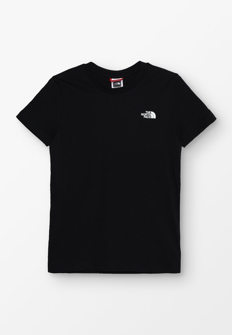 The North Face - YOUTH SIMPLE DOME TEE - T-shirt con stampa - black