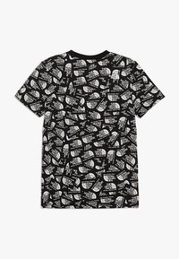The North Face - YOUTH SIMPLE DOME TEE - T-shirt con stampa - black - 1