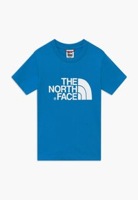The North Face - EASY TEE - T-Shirt print - clear lake blue - 0