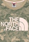 The North Face - CROPPED - T-shirt con stampa - beige