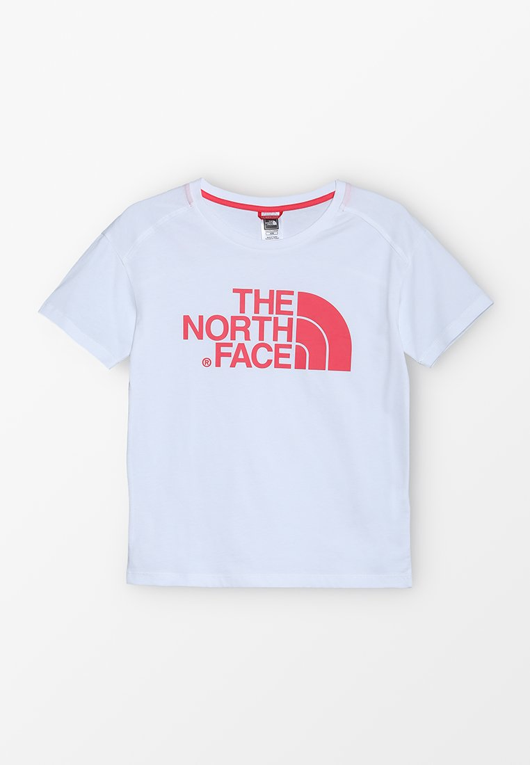 The North Face - BOYFRIEND - T-shirt z nadrukiem - white
