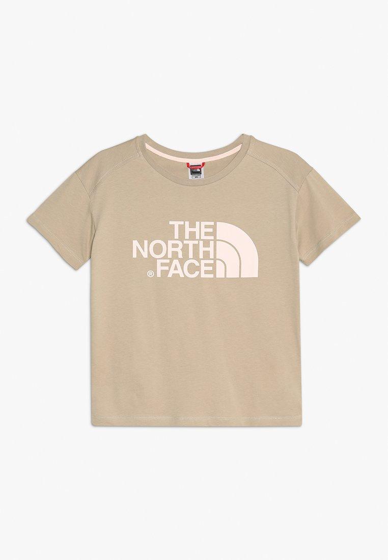The North Face - BOYFRIEND - Print T-shirt - dune beige