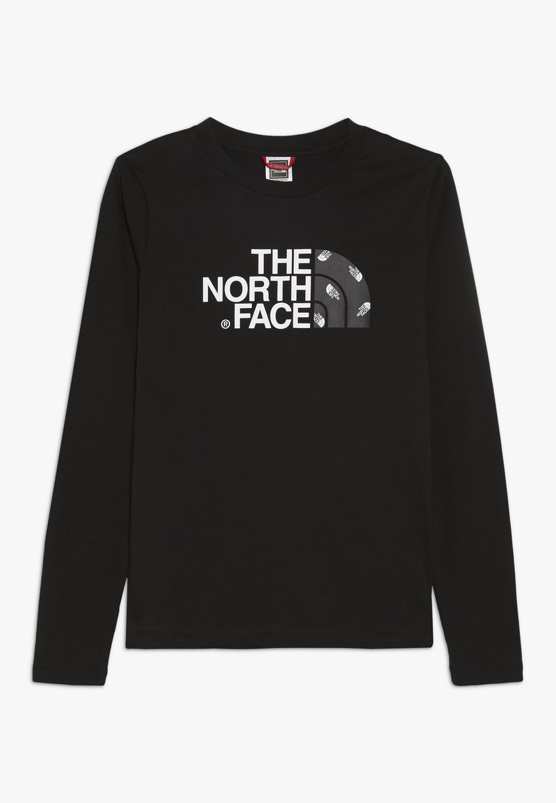 The North Face - EASY TEE   - Bluzka z długim rękawem - black
