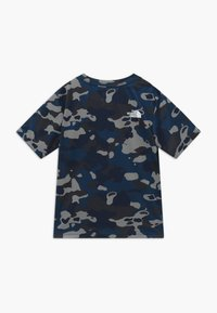 The North Face - BOY'S REAXION 2.0 TEE - T-shirt print - blue-grey/grey - 1