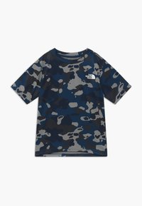 The North Face - BOY'S REAXION 2.0 TEE - T-shirt print - blue-grey/grey - 0