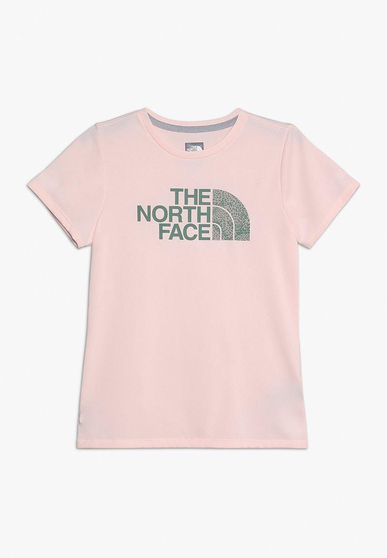 The North Face - REAXION TEE - Print T-shirt - pink salt