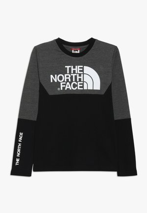 SOUTH PEAK TEE - Longsleeve - black/grey