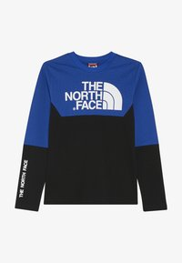 The North Face - SOUTH PEAK TEE - Långärmad tröja - black/blue - 3
